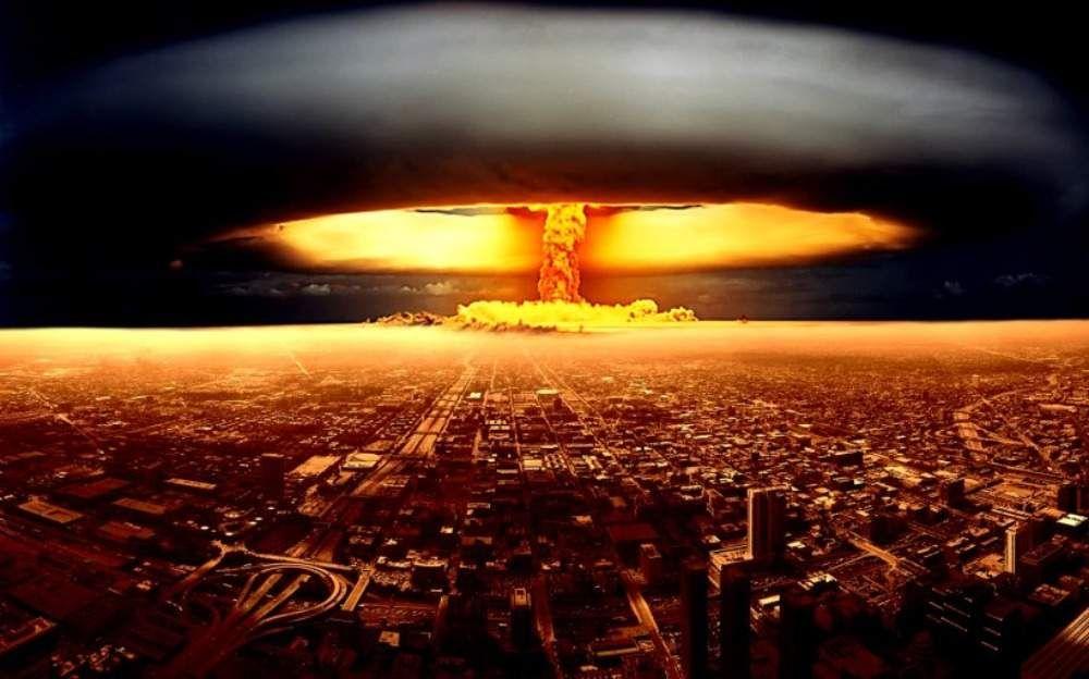 Bulgaria es destruida en un bombardeo nuclear