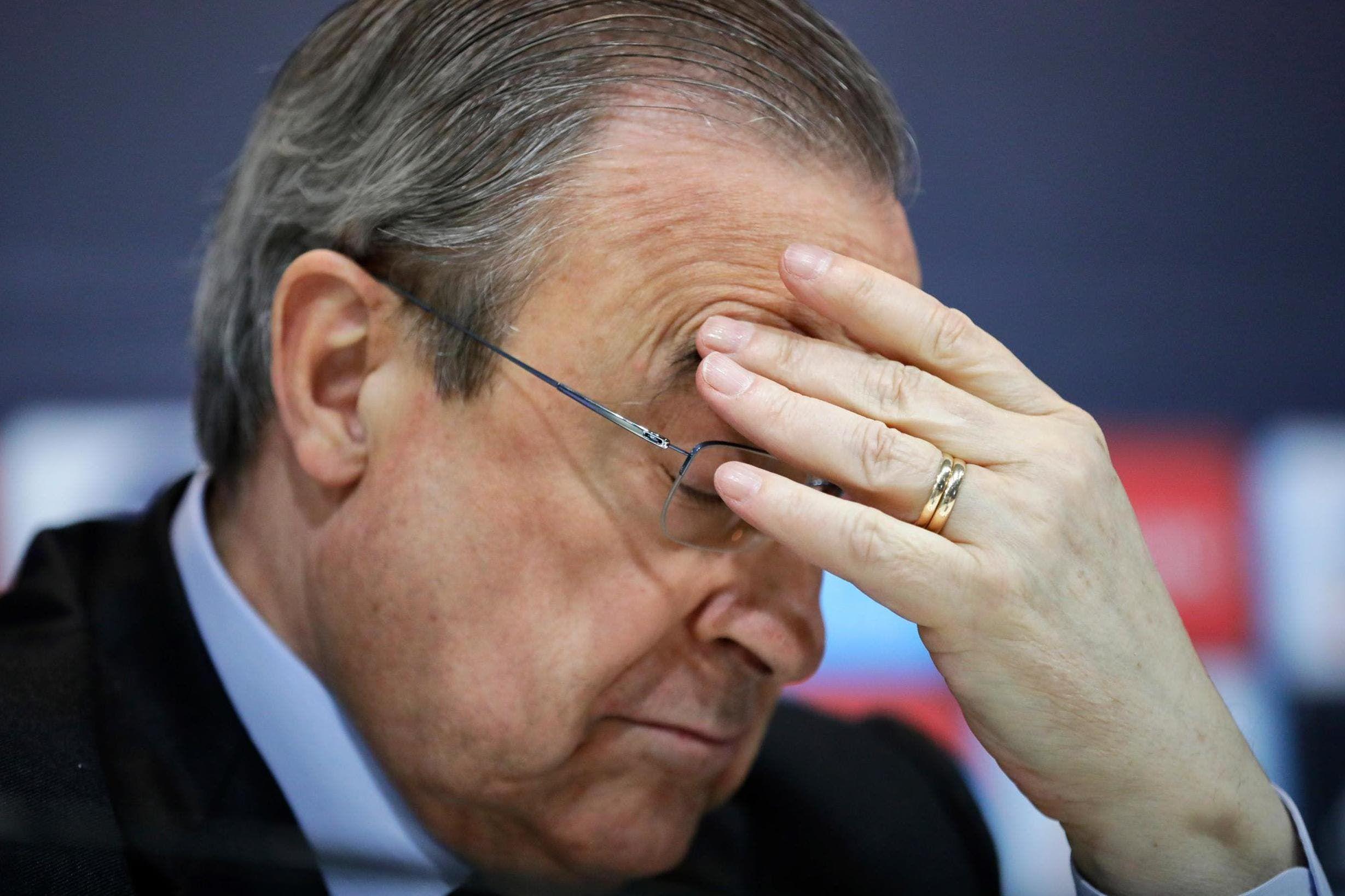 Florentino contesta a la UEFA