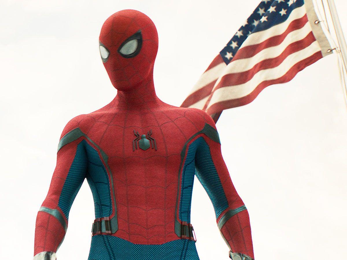 (Channel 8 News) Spider-Man Seen Web Swinging