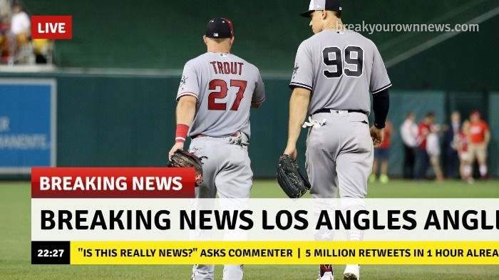 Mike Trout Traded