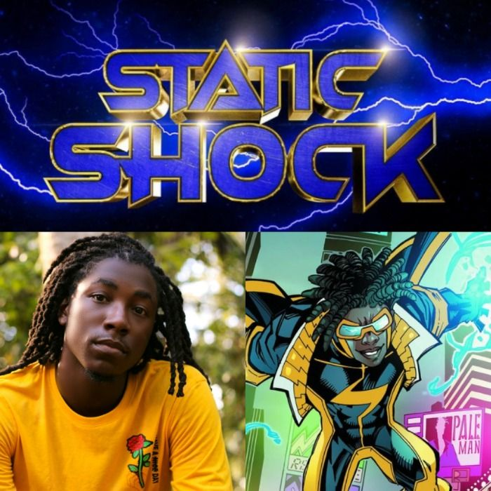 Static shock movie casts their lead.